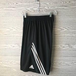 Adidas Mens Black & White Basketball shorts